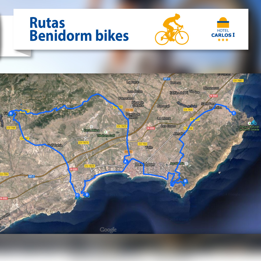 ruta bici